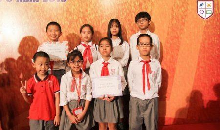 Đa Trí Tuệ MIS tham gia Lễ tuyên dương, khen thưởng học sinh giỏi quận Cầu Giấy – năm học 2018-2019