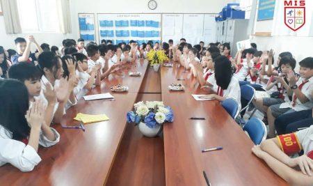 MIS tổ chức thành công Đại hội Chi đội mẫu năm học 2019 – 2020