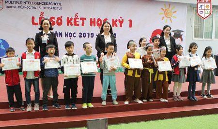 Ngày hội tôn vinh tri thức và hạnh phúc – Lễ sơ kết HK1 cấp Tiểu học MIS